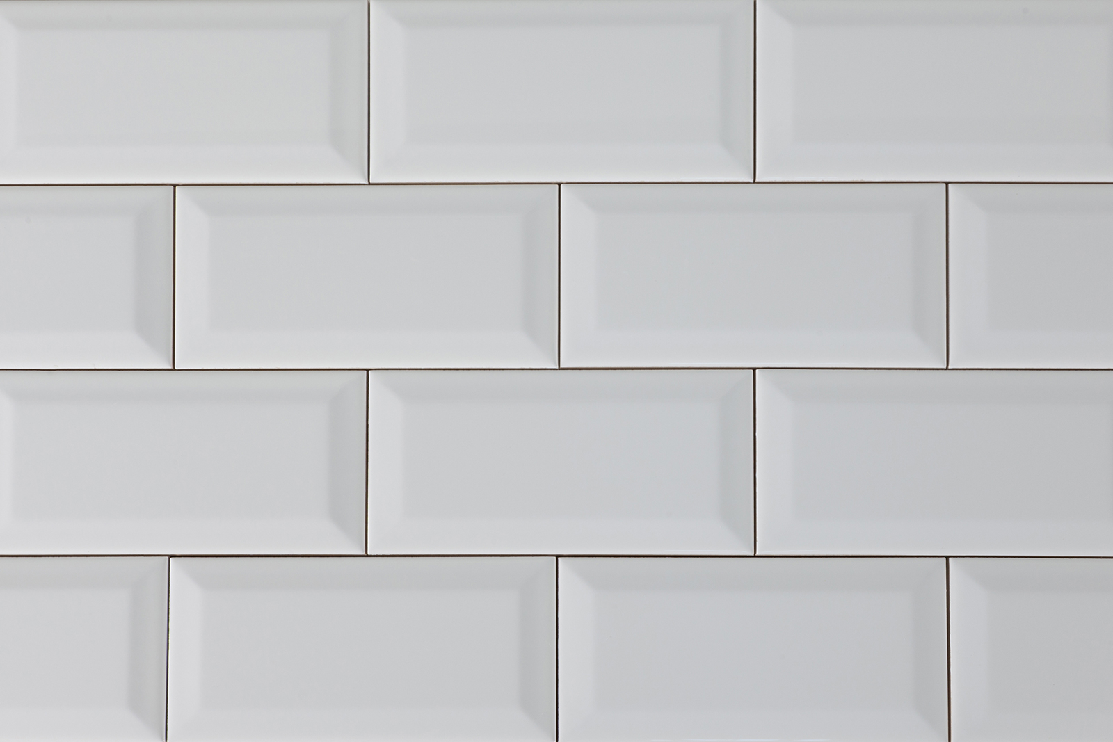 5th Avenue 3 X 6 White Beveled Subway Tile