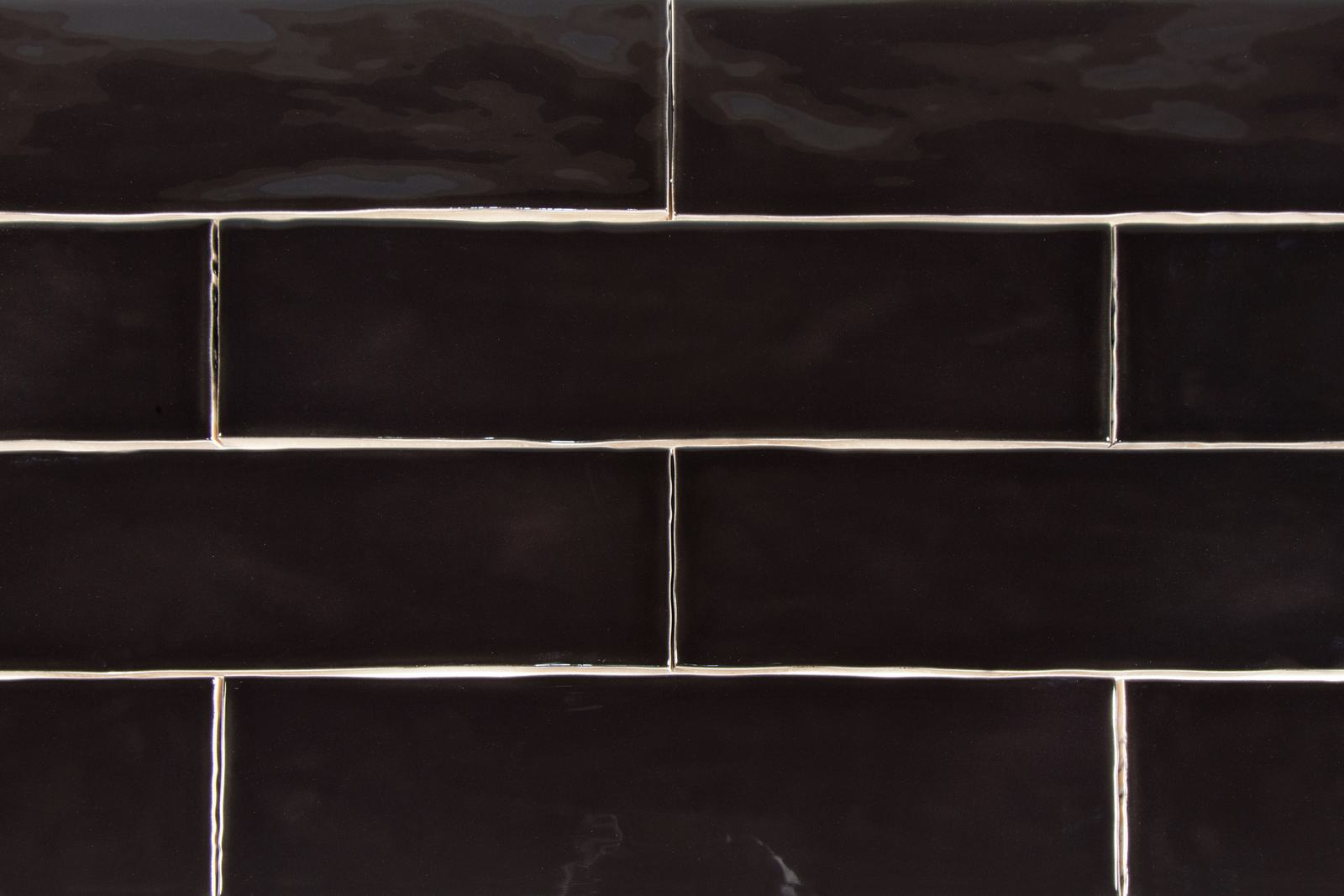 Lusso 3 x 12 nero handmade look polished subway tile storka lusso in color nero dailygadgetfo Choice Image