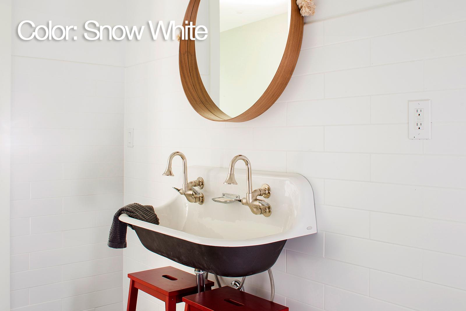 Us ceramic tile bright snow white columbialabelsfo 4x16 subway tile home depot ceramic tile bright snow white choice dailygadgetfo Gallery