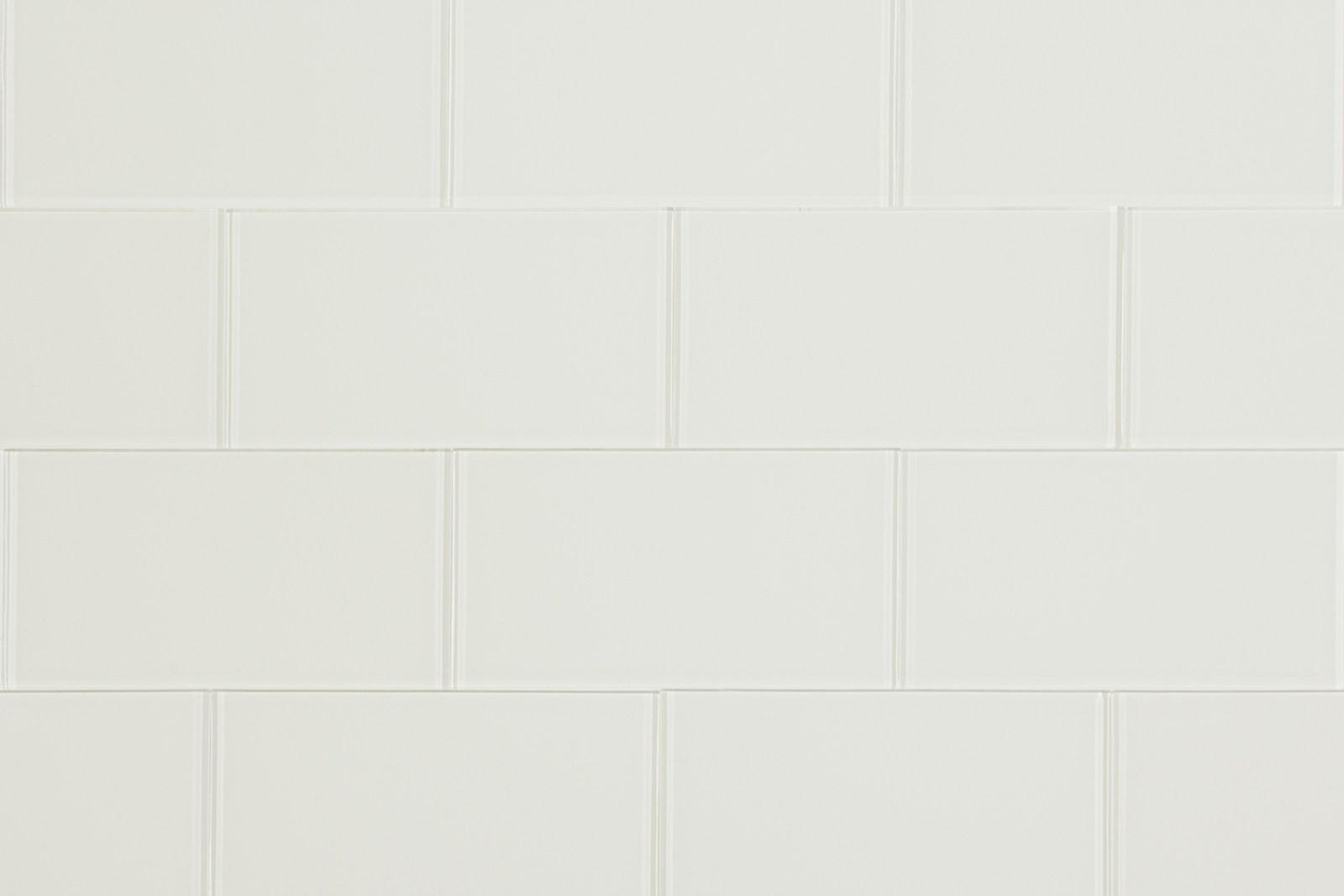 Slimglass 3 X 6 Cream Glass Subway Tile Storka